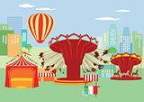 Fairground, funfair