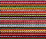 multi color bubble lines pattern background over black