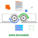 vector - data exchange