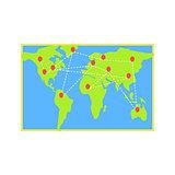 Logistics Destination Map