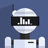 Ergonomic Design Robot Character