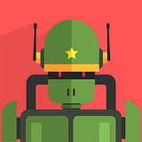 Soldier Robot Character