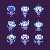Robot Different Emotions Set