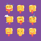 Sandwich Character Set