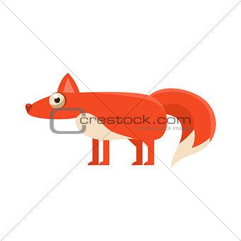 Fox Simplified Cute Illustration