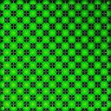 Bright green geometrical background