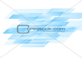 Blue abstract technology vector design