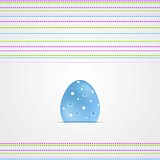 Easter greeting card graphic vector design