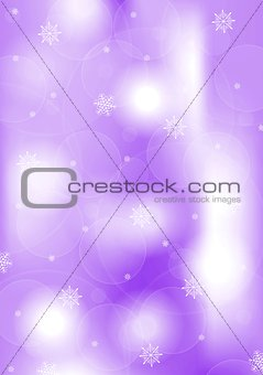 Bright purple Christmas background