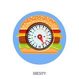 Obesity and Overweight Concept