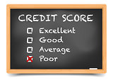 Blackboard Credit Score
