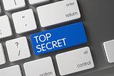 Keyboard with Blue Keypad - Top Secret.