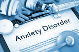 Anxiety Disorder. Medical Concept.
