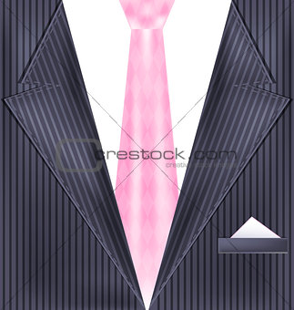 abstract gray suit