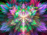 Fractal colorful