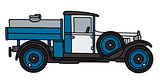 Vintage dairy tank truck