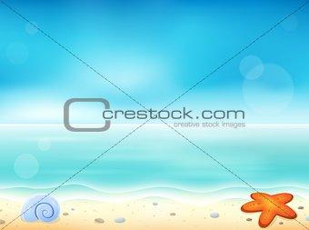 Beach theme image 1