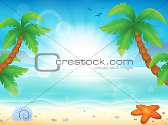 Beach theme image 8