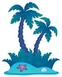 Tropical island theme image 4