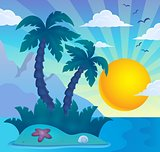 Tropical island theme image 6