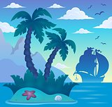 Tropical island theme image 7