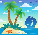 Tropical island theme image 8