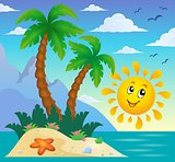 Tropical island theme image 9