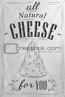 Poster all cheese coal