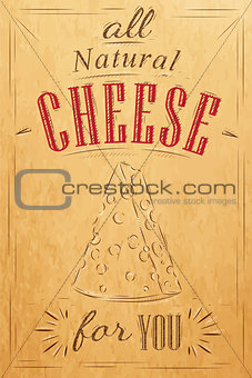 Poster all cheese kraft