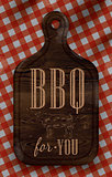 Poster bbq for you dark