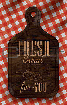 Poster fresh bread for you