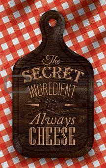 Poster secret ingredient dark
