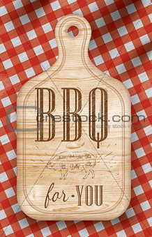 Poster bbq for you