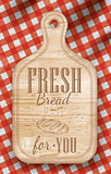 Poster fresh bread