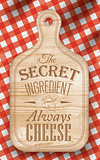 Poster secret ingredient