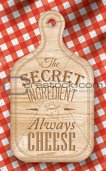 Poster secret ingredient