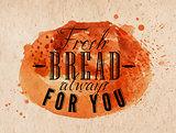 Bread poster kraft