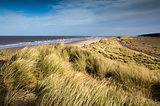 Windy day at Holkham Beach