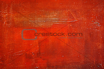 Bright Red Textured Background