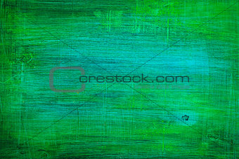Green Scratched Background