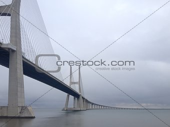 Bridge Vasco da Gama in Portugal