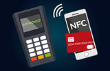Mobile paying with NFC technology