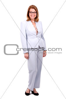 business caucasian woman