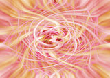 yellow and red twirl for background, template or presentation