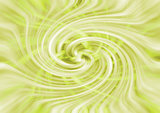yellow and green twirl for background, template or presentation