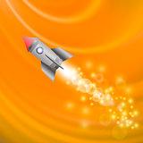 Space Rocket. Launching Spacecraft.
