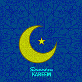 Ramadan Greetings Background.