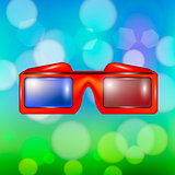 Red Glasses for Watching Movies