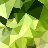 Electric Lime Green Abstract Low Polygon Background