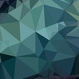 Metallic Seaweed Green Abstract Low Polygon Background